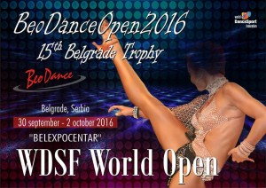 BeoDance Open 2016 - 15th Belgrade Trophy