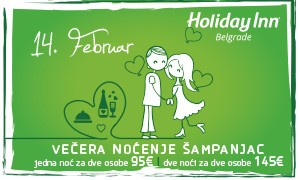 St. Valentine's day @ Holiday Inn Belgrade!