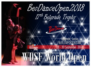 WDSF World BeoDance Open 2018